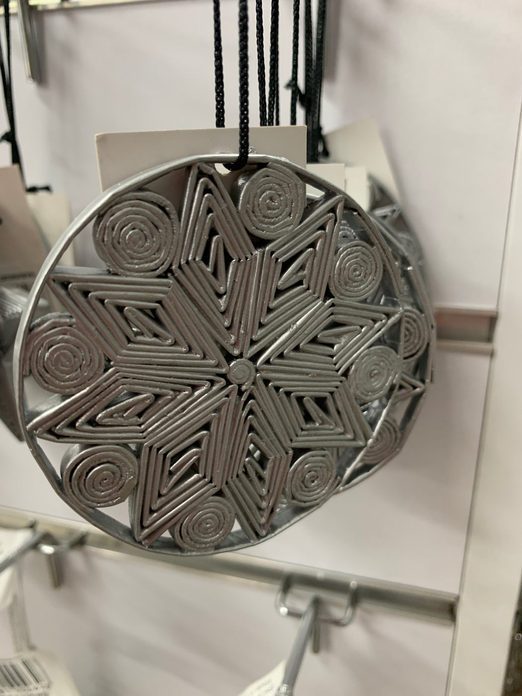 Paper Bauble Silver