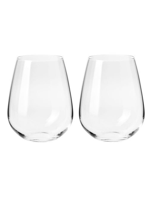 Krosno Duet Collection Stemless Wine Glass 500mls