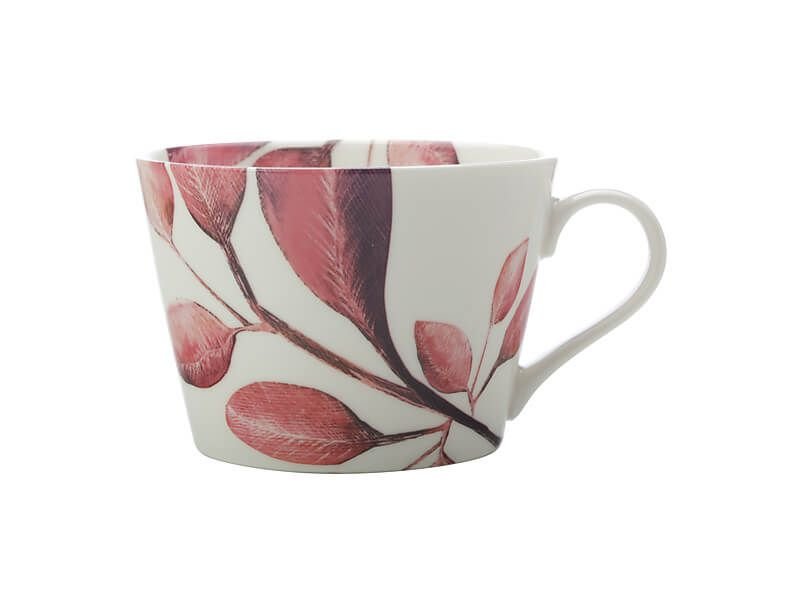 MW Winter Bloom Mug 450ML Raspberry