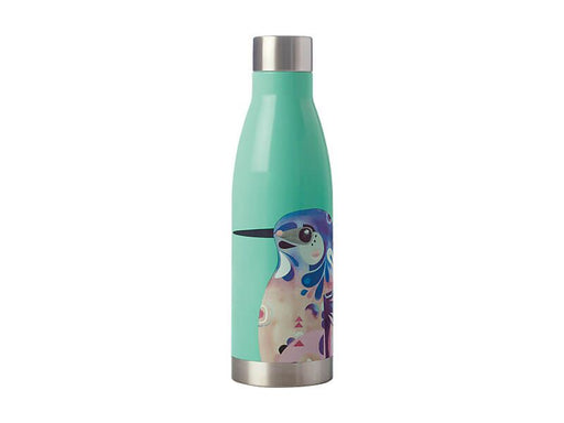 MW Pete Cromer Double Wall Insulated Bottle 500ML Azure Kingfisher