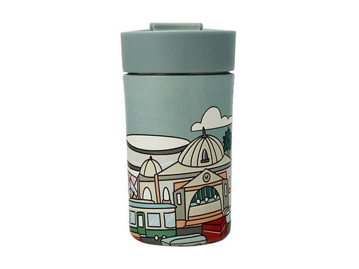 Megan McKean Cities Double Wall Insulated Cup 350ML Melbourne
