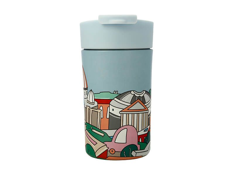 Megan McKean Cities Double Wall Insulated Cup 350ML Rome