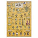 Jigsaw Puzzle 500 pcs Whisky Lovers UK (50x35cm - 20)""