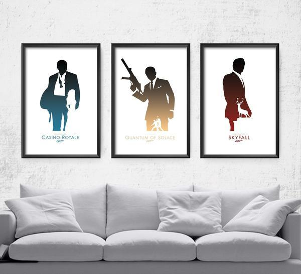 007 Daniel Craig Series Posters by The Pixel Empire - Pixel Empire