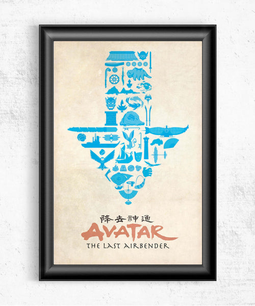 Adventures With Aang Posters- The Pixel Empire