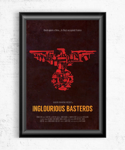 Inglourious Basterds Posters- The Pixel Empire