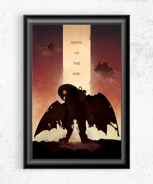 Bioshock Infinite - Bring Us the Girl Posters- The Pixel Empire
