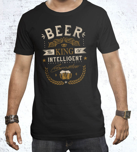 Oh Beer Men's Shirt by Grant Shepley - Pixel Empire