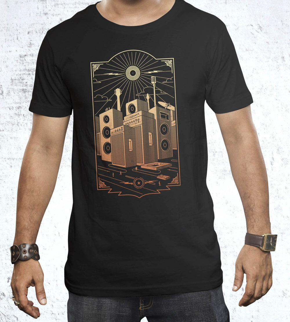 Sound City T-Shirts by Grant Shepley - Pixel Empire