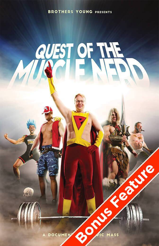 Quest of the Muscle Nerd Digital Down - Bonus Download by Muscle Nerd - Pixel Empire