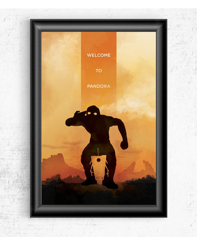 Borderlands - Welcome to Pandora Posters- The Pixel Empire