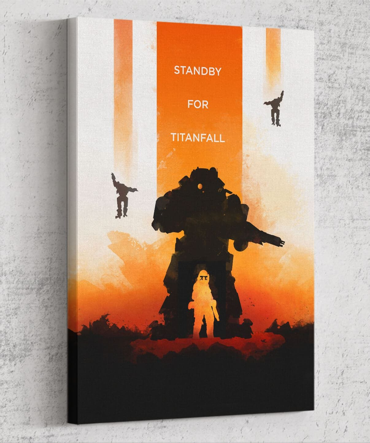Standby For Titanfall Canvas by Dylan West - Pixel Empire