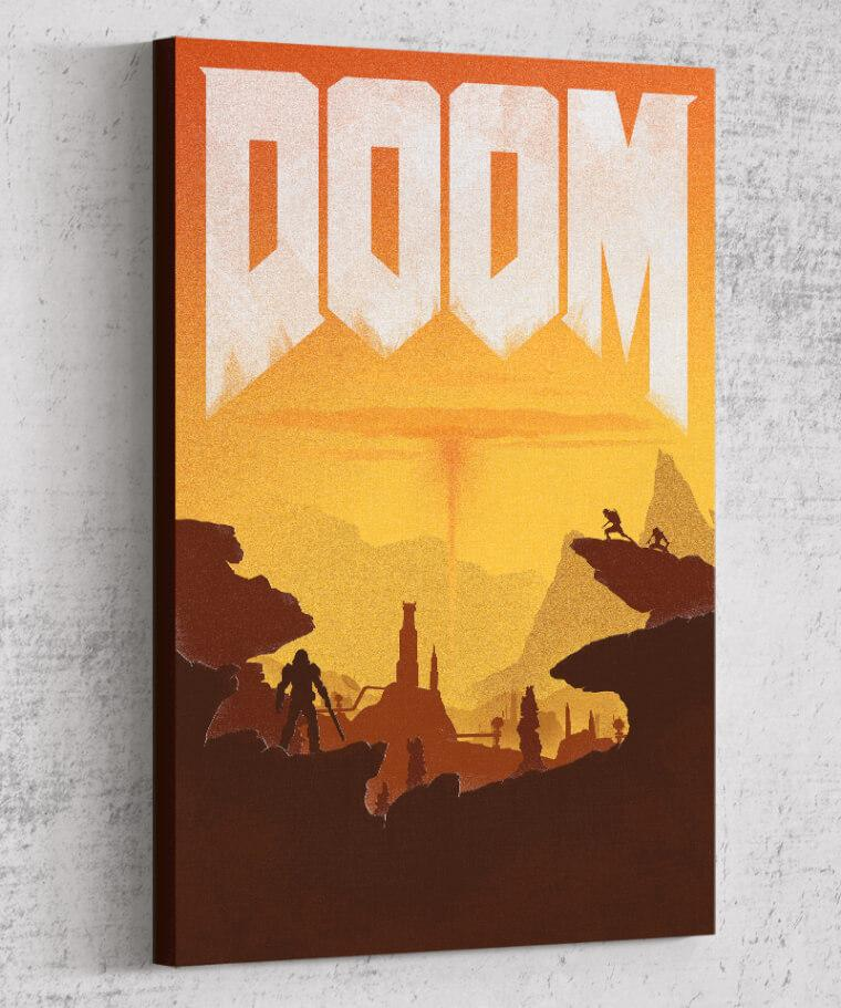 Doom Canvas by Felix Tindall - Pixel Empire