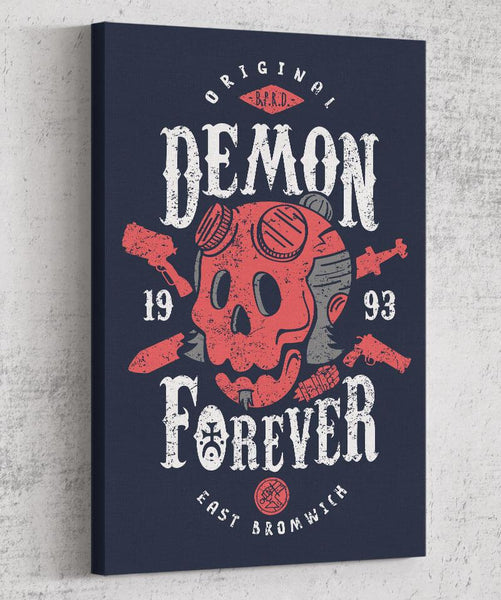 Demon Forever Canvas by Olipop - Pixel Empire