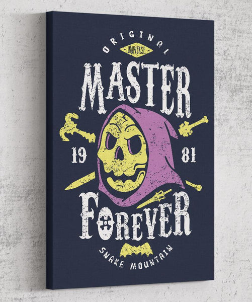 Evil Master Forever Canvas by Olipop - Pixel Empire