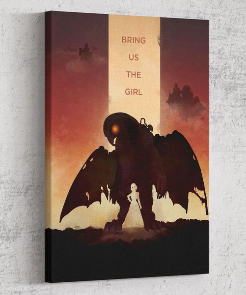 Bioshock Infinite - Bring Us the Girl Canvas by Dylan West - Pixel Empire
