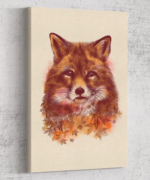 The Red Fox Canvas by Dan Elijah Fajardo - Pixel Empire