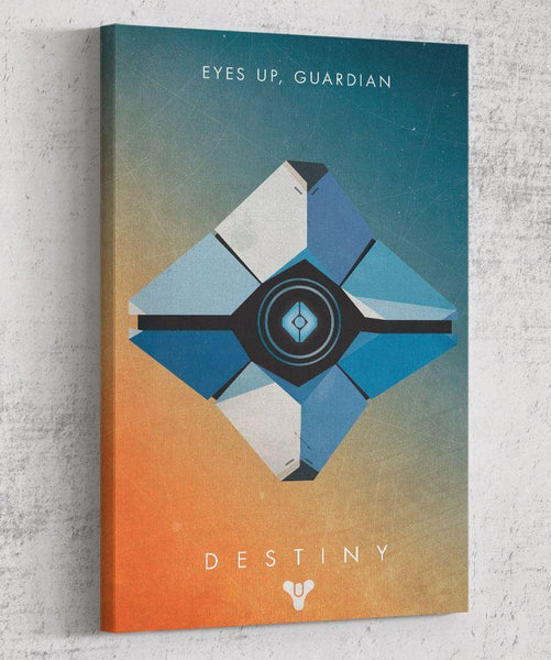 Eyes Up Guardian Canvas by Dylan West - Pixel Empire