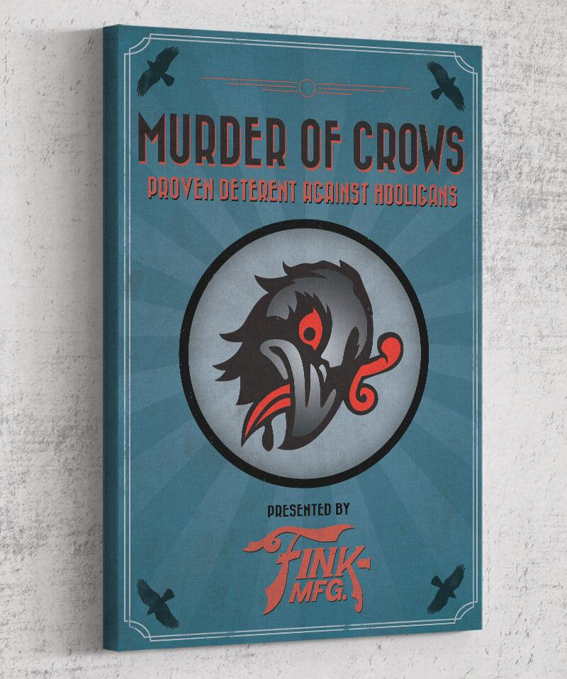 Bioshock Vigor Murder of Crows Canvas by Dylan West - Pixel Empire