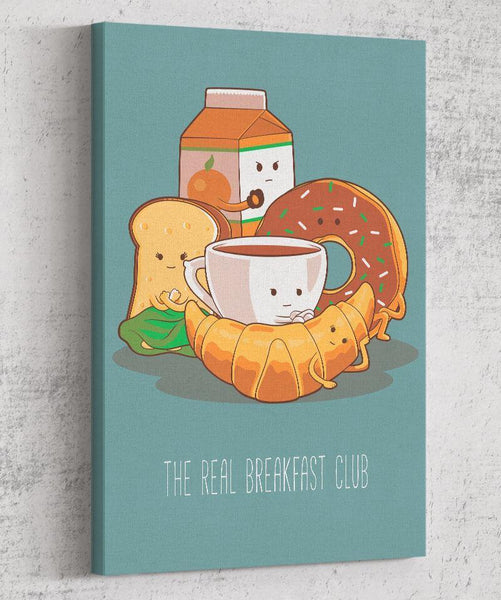 The Real Breakfast Club Canvas by Saqman - Pixel Empire