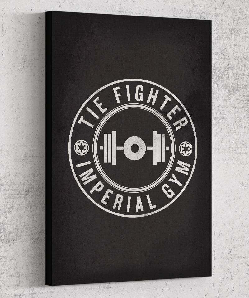 Imperial Gym Canvas by Edge Fitness - Pixel Empire