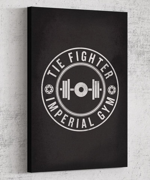 Imperial Gym Canvas by The Pixel Empire - Pixel Empire