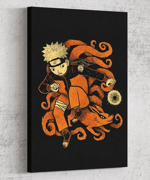 Nine Tails Canvas by Louis Roskosch - Pixel Empire