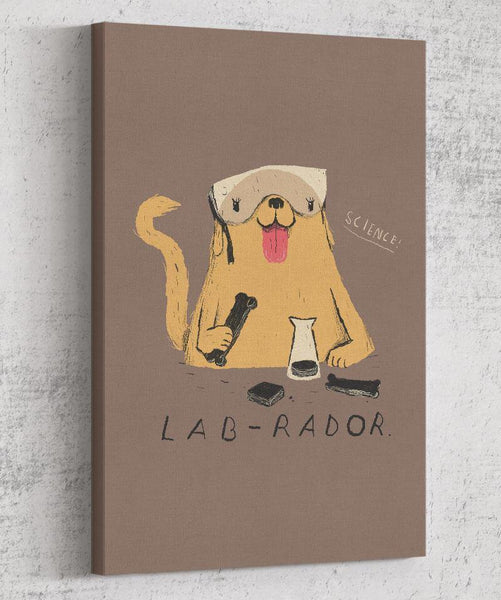 Lab-rador Canvas by Louis Roskosch - Pixel Empire