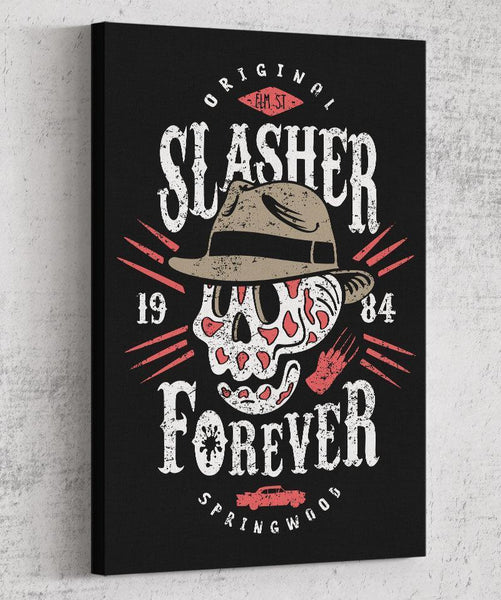 Slasher Forever Canvas by Olipop - Pixel Empire