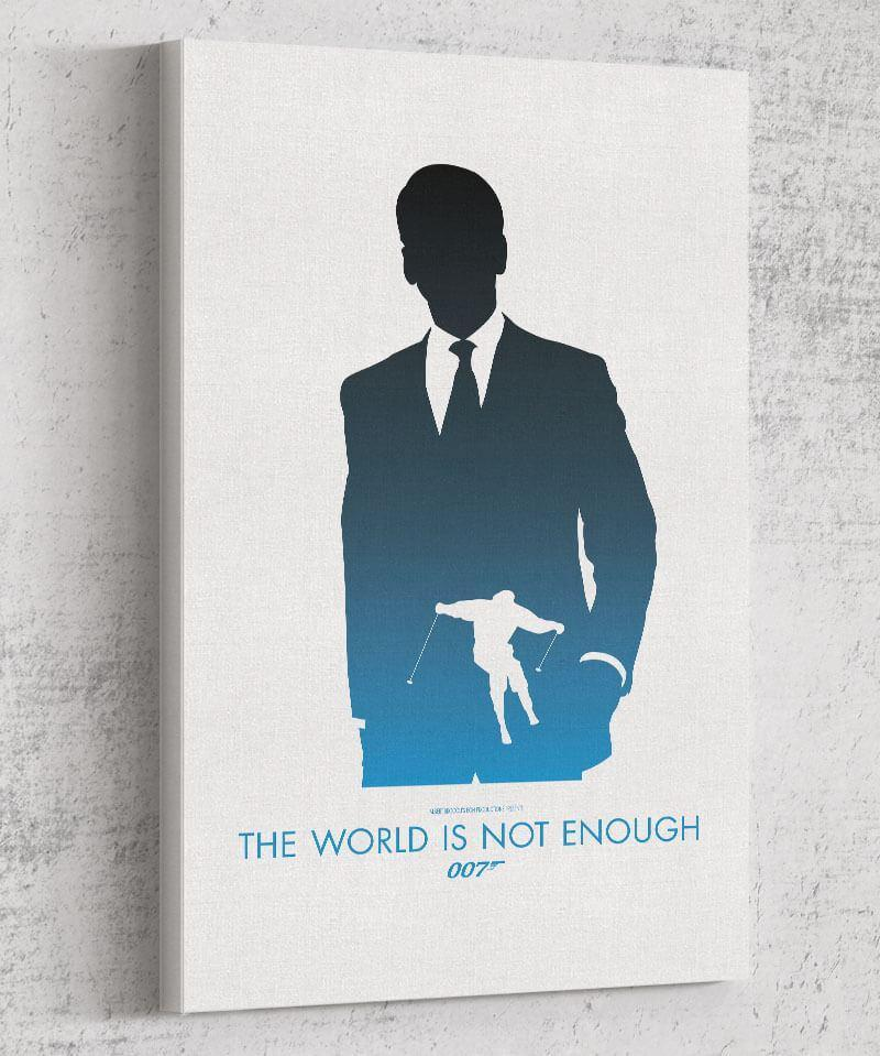 The World is Not Enough Canvas by Dylan West - Pixel Empire