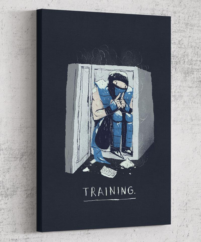 Training Canvas by Louis Roskosch - Pixel Empire