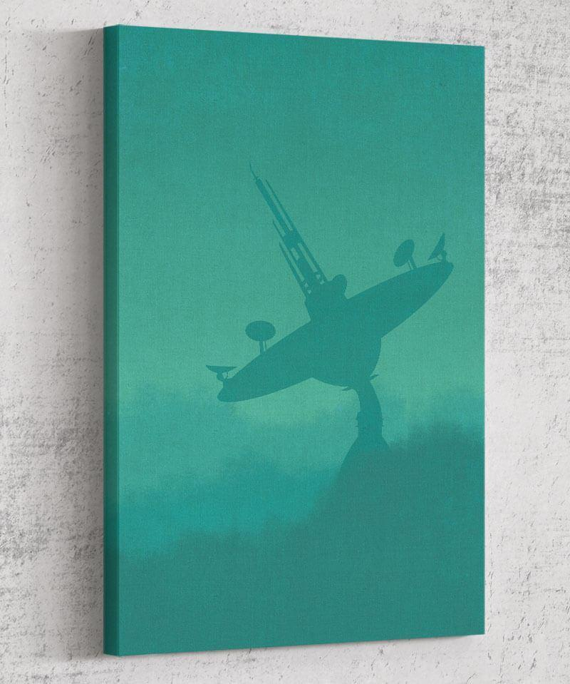 Return of the Jedi Minimalism Canvas by Dylan West - Pixel Empire