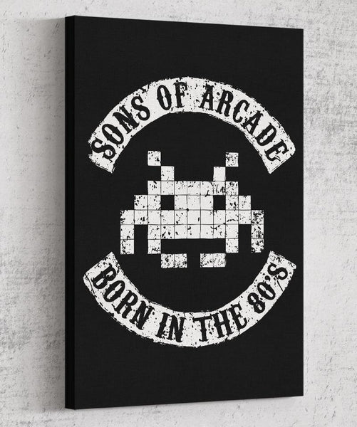 Sons of Arcade Canvas by Olipop - Pixel Empire