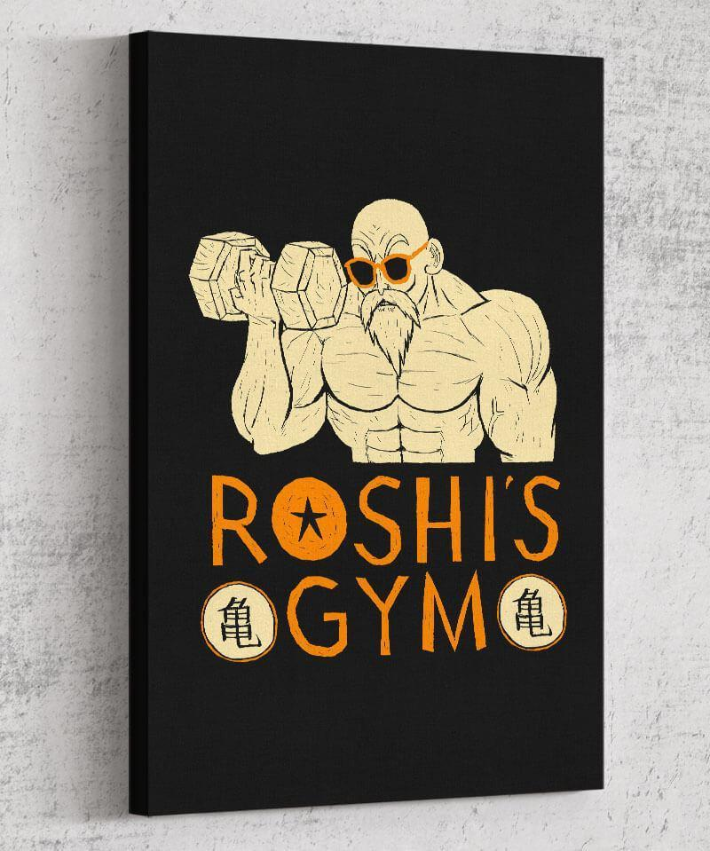 Roshi's Gym Canvas by Louis Roskosch - Pixel Empire