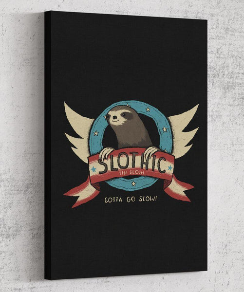Slothic Canvas by Louis Roskosch - Pixel Empire