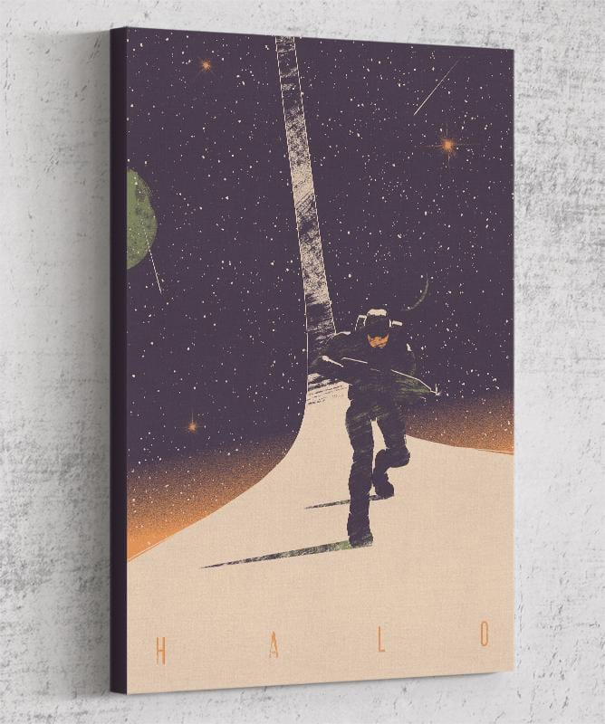 Halo Canvas by Felix Tindall - Pixel Empire