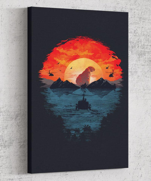 Skull Island Canvas by Dan Elijah Fajardo - Pixel Empire