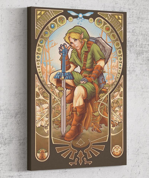Hylian Spirit Canvas by Saqman - Pixel Empire
