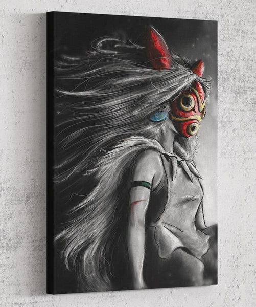 Sans Fury Mononoke Canvas by Barrett Biggers - Pixel Empire