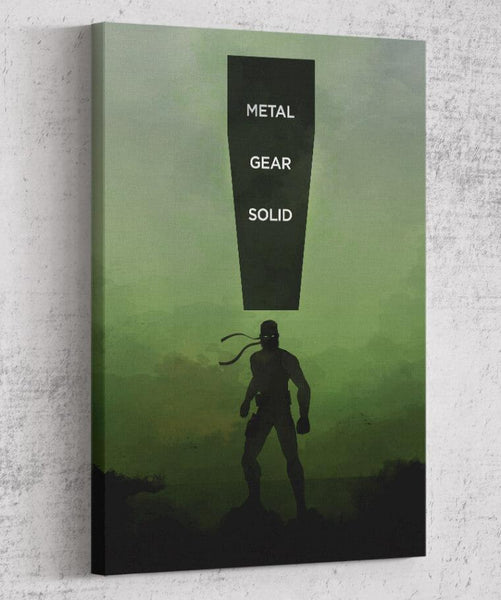 Metal Gear Solid Canvas by The Pixel Empire - Pixel Empire