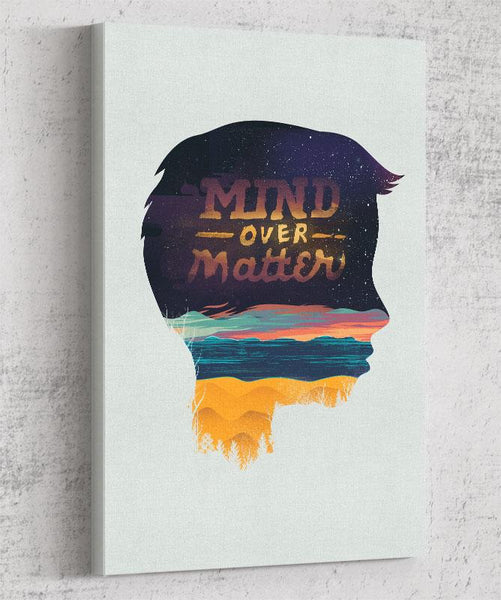 Mind Over Matter Canvas by Dan Elijah Fajardo - Pixel Empire