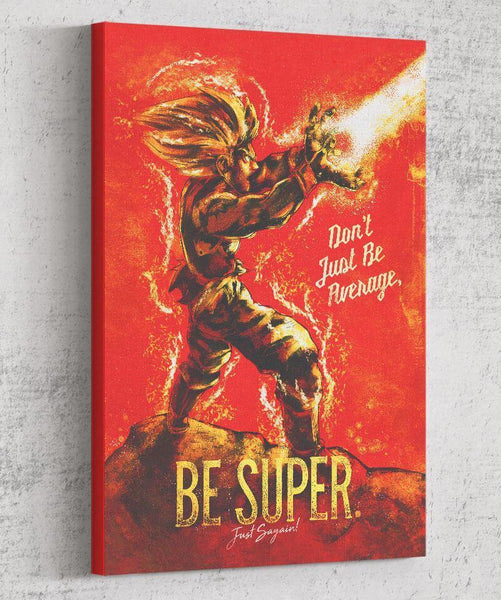 Be Super Canvas by Barrett Biggers - Pixel Empire