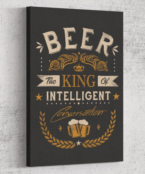 Oh Beer Canvas by Grant Shepley - Pixel Empire