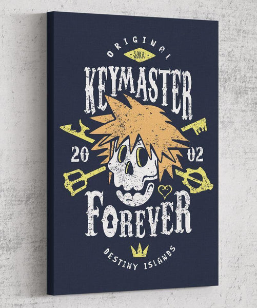 Keymaster Forever Canvas by Olipop - Pixel Empire