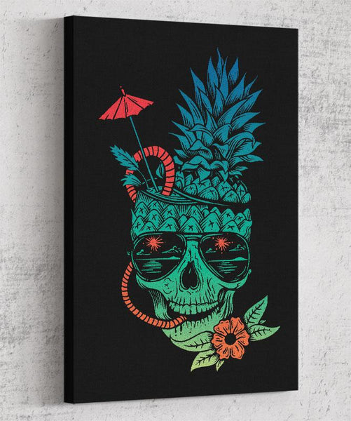 Muerte Colada Canvas by Daniel Teres - Pixel Empire