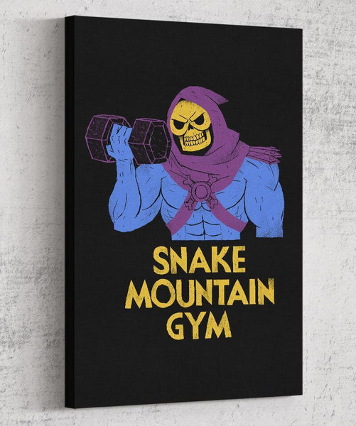 Snake Mountain Gym Canvas by Louis Roskosch - Pixel Empire