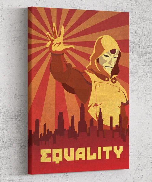 Amon Propaganda Canvas by The Pixel Empire - Pixel Empire