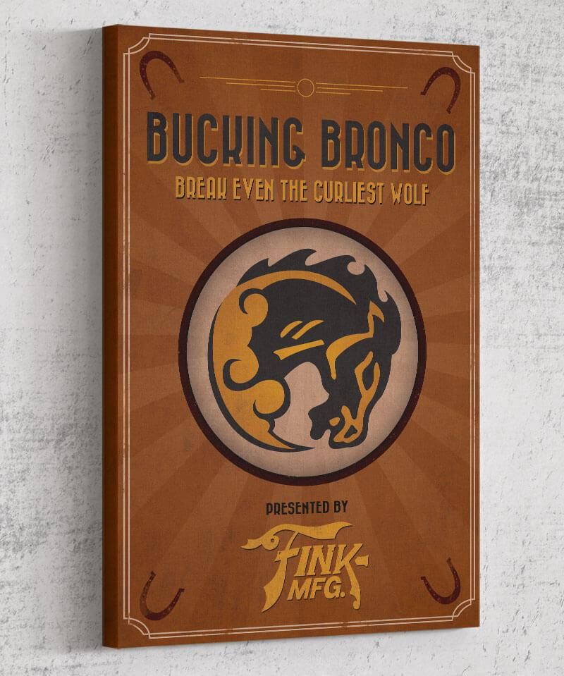 Bioshock Vigor Bucking Bronco Canvas by Dylan West - Pixel Empire
