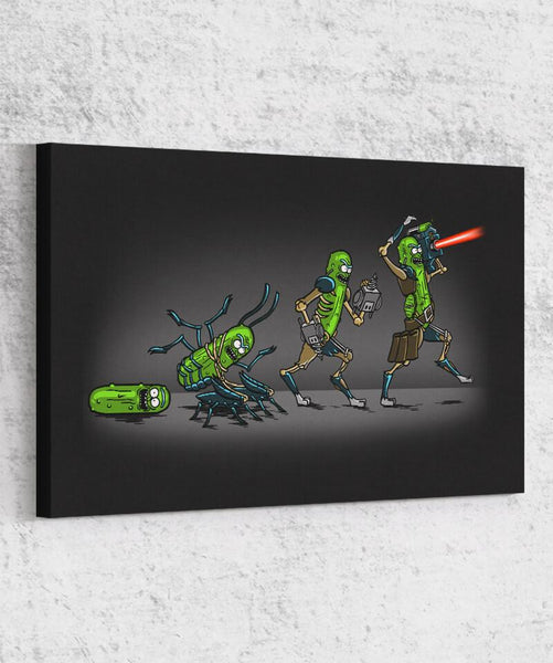 Pickle Evolution Canvas by COD Designs - Pixel Empire