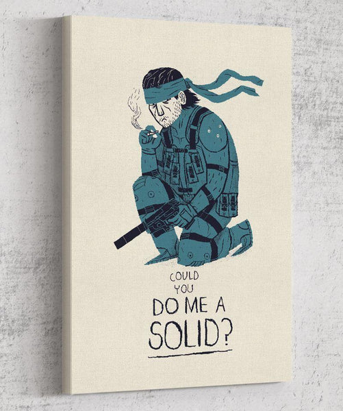 Do Me a Solid Canvas by Louis Roskosch - Pixel Empire